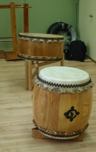 Drums of all shapes and sizes.