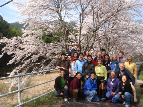 Shidara residency participants pose for group picture